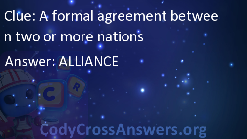 A Formal Agreement Between Two Or More Nations Answers