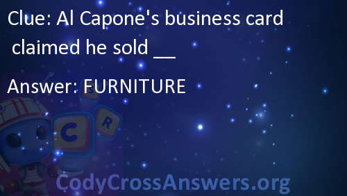Al capones business card claimed he sold answers al capones business card claimed he sold answers colourmoves