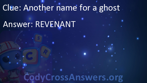 another name for a ghost answers