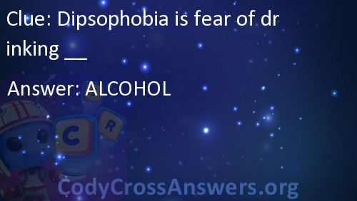 Dipsophobia is fear of drinking __ Answers