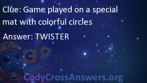 Game Played On A Special Mat With Colorful Circles Answers