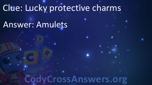 Lucky protective charms Answers - CodyCrossAnswers org