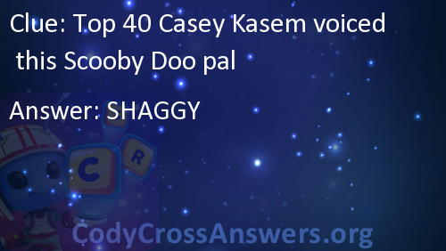 Top 40 Casey Kasem voiced this Scooby Doo pal Answers